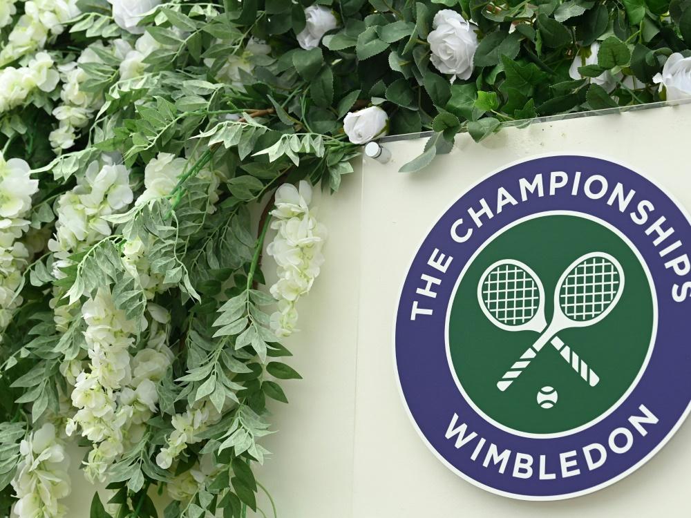 Wimbledon: Klimaschutz soll heute in den Fokus geraten (© AFP/SID/GLYN KIRK)