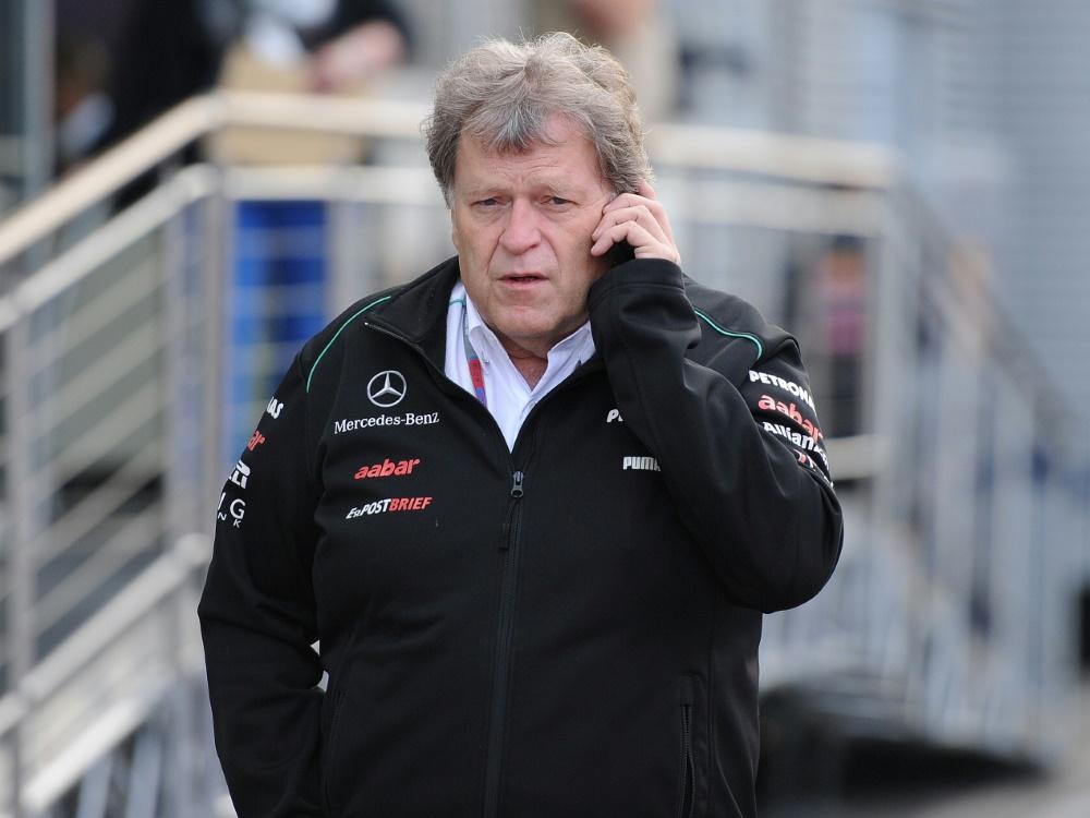 Norbert Haug fordert mehr Nachhaltigkeit in der Formel 1 (© FIRO/FIRO/SID/)