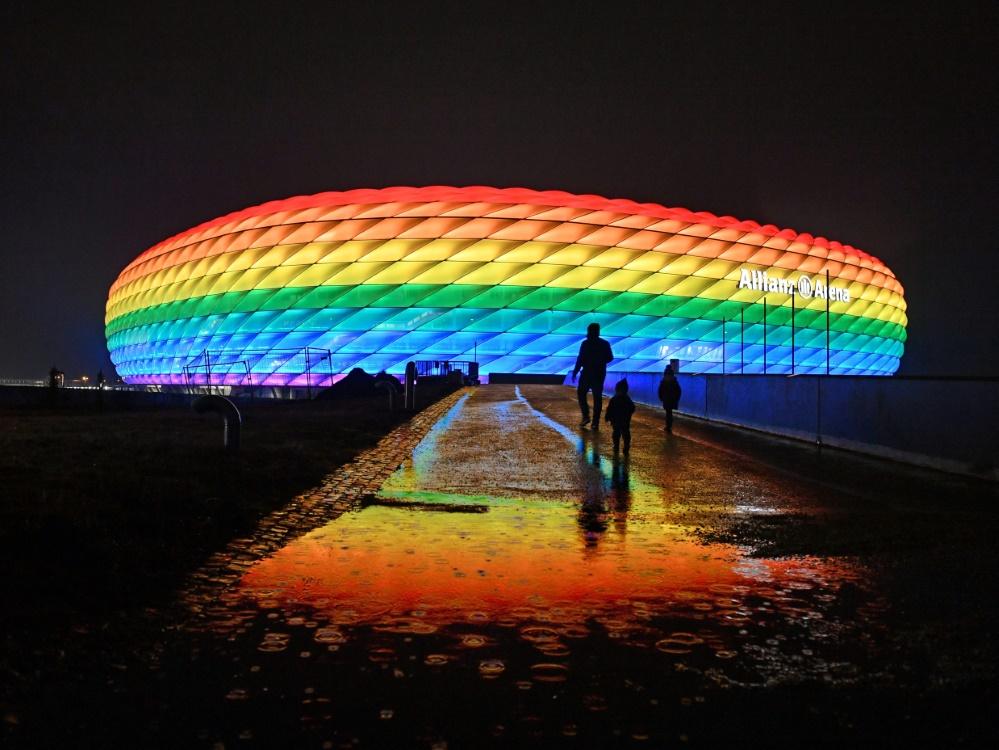 Das Gelände um die Allianz Arena wird nachhaltiger (© Martin Hangen/Martin Hangen/SID/Frank Hoerman)
