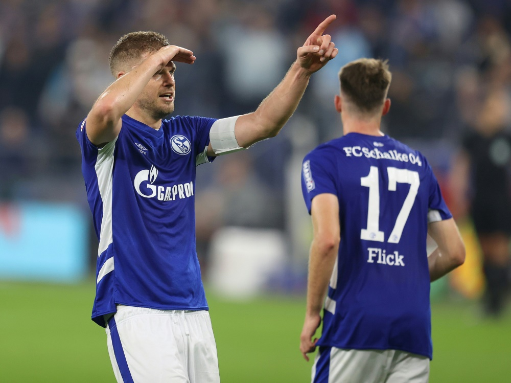 Schalke reist in Zukunft klimafreundlich (© FIRO/FIRO/SID/Jürgen Fromme)