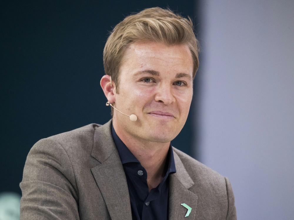 Rosberg wird für Umwelt- und Klimaschutz ausgezeichnet (© AFP/SID/ODD ANDERSEN)