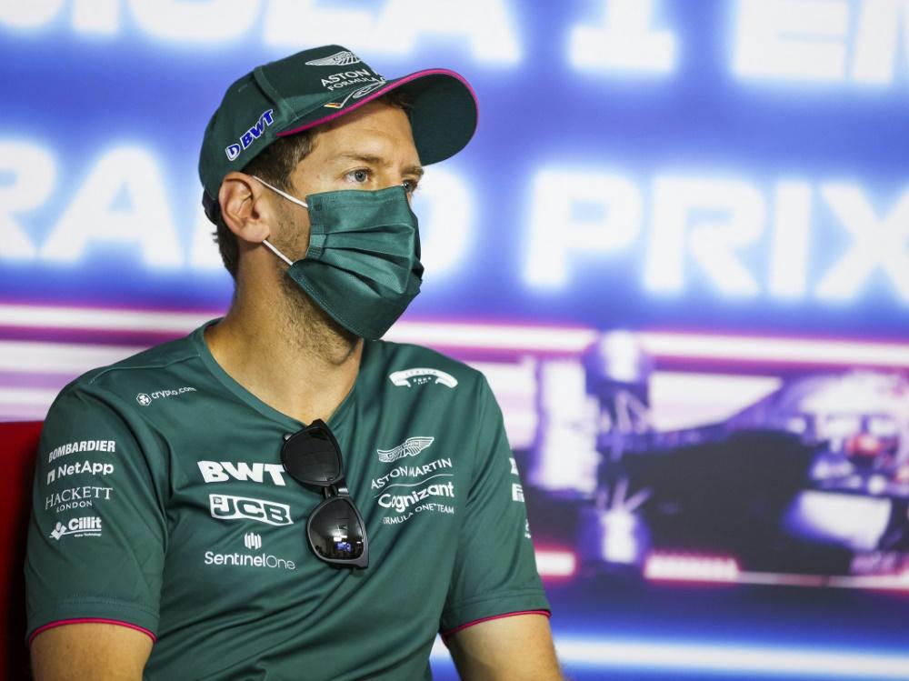 Sebastian Vettel (© AFP/POOL/SID/ANTONIN VINCENT)