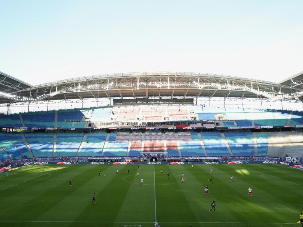 RB Leipzig setzt beim Stadionumbau auf Nachhaltigkeit (© AFP/SID/ALEXANDER HASSENSTEIN)